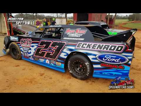 #23 Chad Winkles - Street Stock - 3-17-18 Moulton Speedway - In Car Camera