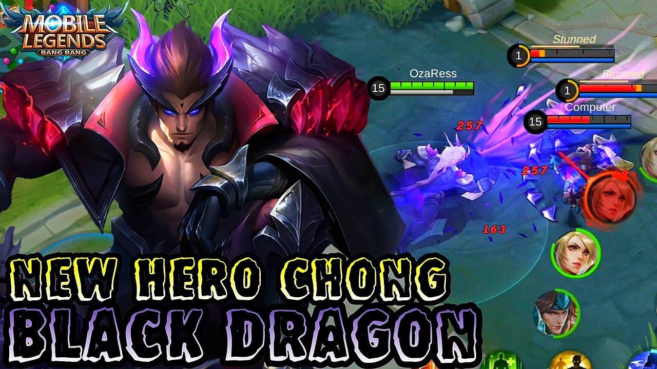 New Hero Black Dragon Chong Mobile Legends Bang Bang