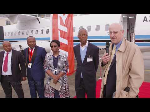 Air Botswana's first ATR72-600 delivery ceremony