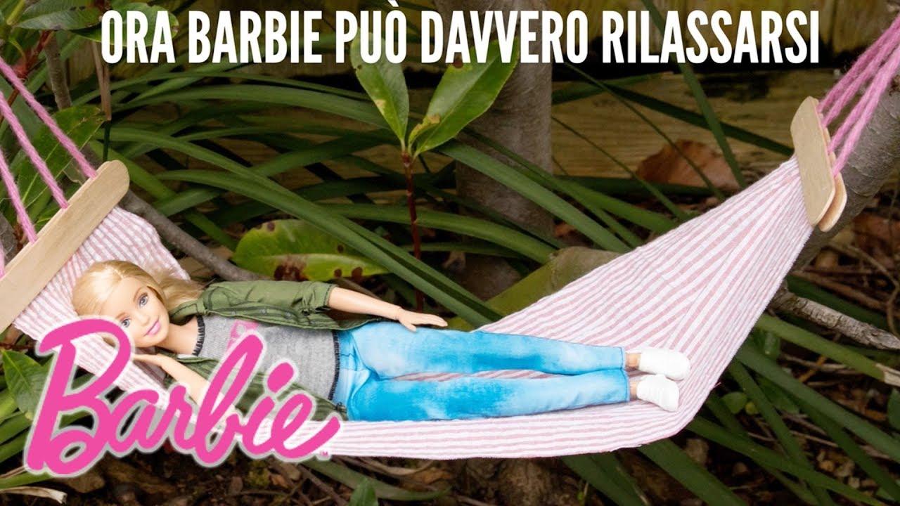 Sdraio Barbie Fai Da Te.Barbie Fai Da Te Amaca Per Barbie Barbie