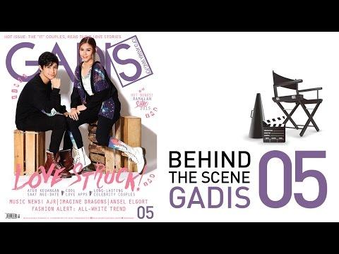 Behind The Scene: Teuku Rassya & Vanesha for GADISmagz 05/2015