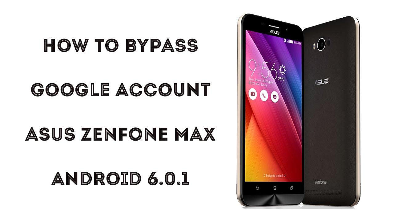 2016 How To Bypass Google Account Asus Zenfone Max Zenfone 3