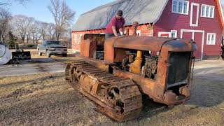 Old Detroit screams to life after 24 years!!! 65 year old crawler lives again!!!