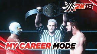 WWE 2K18 - My Career: #04 - NXT CHAMPIONSHIP MATCH!