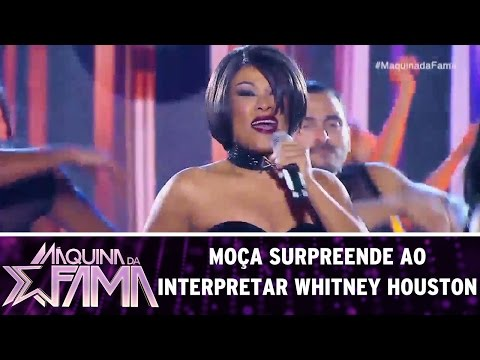 Leilah Moreno surpreende ao interpretar Whitney Houston | Máquina da Fama (15/05/17)