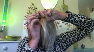 Fryzura- dobierany warkocz z grzywki