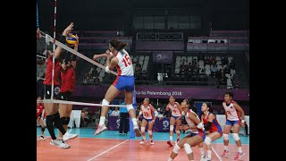Overpowering Japan drubs PH in Asiad women's volleyball