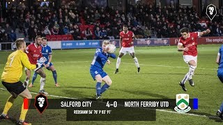Salford City 4-0 North Ferriby United - National League North 18/11