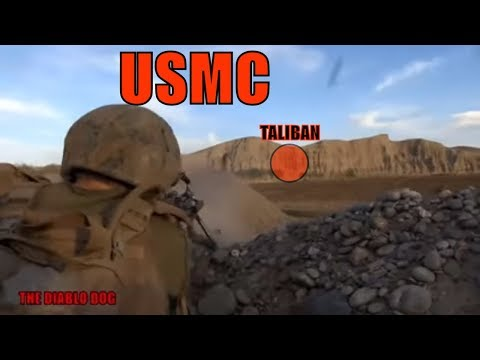 ENEMY CLOSE!!! 100 ROUNDS LEFT!!! USMC COMBAT AFGHANISTAN
