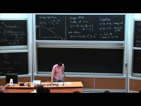 László Székelyhidi: The H-Principle and Turbulence
