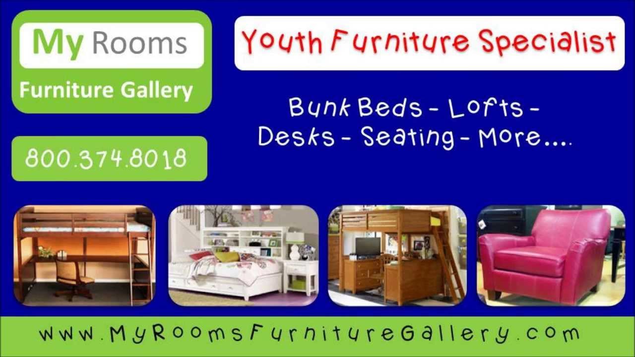Youth Furniture Store | My Rooms Furniture Gallery   YouTube