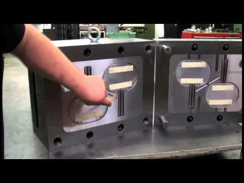Обучающее видео - Изготовление преcсформ и штампов. Пресс-форма. Штамп.
