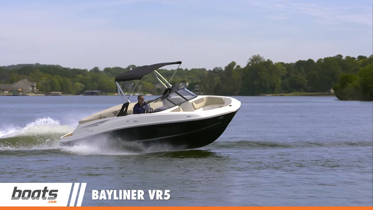 Bayliner Vr5  Video Boat Review