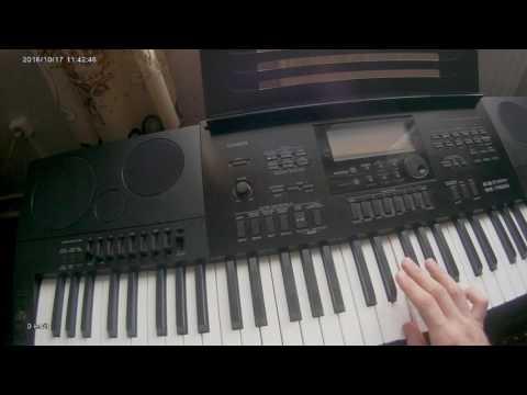 Дискотека Авария - Новогодняя на синтезаторе Casio Wk-7600