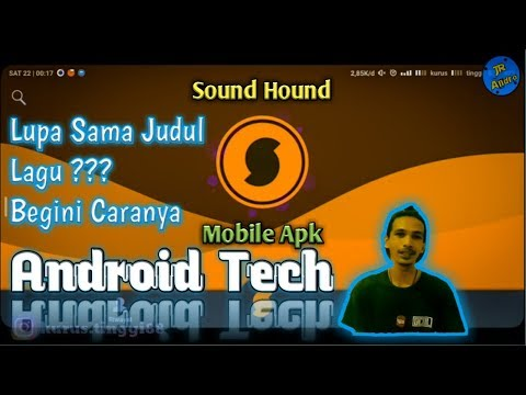 TUTORIAL Sound Hound Mobile Apk. Music Search,  Discovery & Play