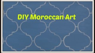Dollar Decor: Diy Moroccan Art