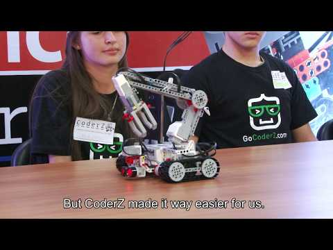 Cyber Robotics Coding Competition Paraguay Coderz Youtube