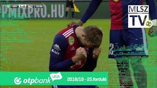 Futács Márkó gólja a MOL Vidi FC – Mezőkövesd Zsóry FC mérkőzésen