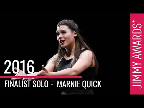 2016 Jimmy Awards Finalist Marnie Quick