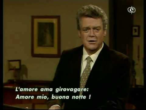 """Hermann Prey  """"Gute Nacht"""""""