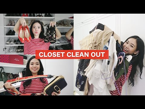 CLEAN WITH ME : DECLUTTER BARANG2 DI LEMARI | Jual Preloved Aku