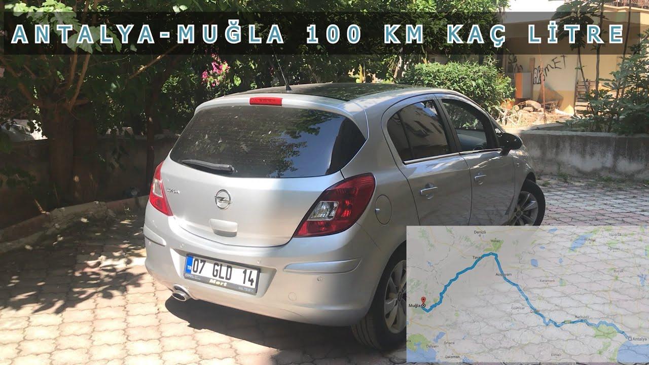 Opel Corsa D 1.2 benzinli uzun yolda ne kadar yaktı ...