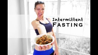 🔴How I Do Intermittent Fasting DATE Fast For Weight Loss