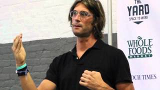 Rich Roll Speaking at the Seed Vegan Expo in NYC