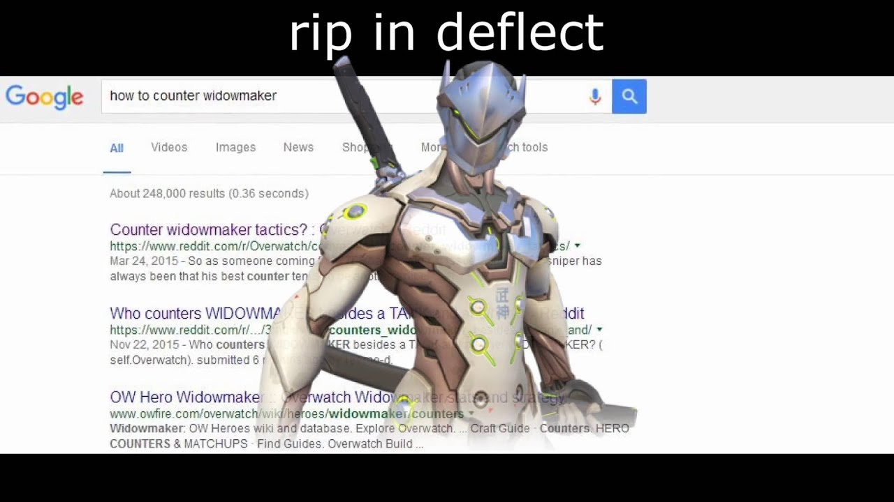 Can Genji Deflect Moira