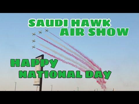 AIR SHOW/SAUDI ARABIA NATIONAL DAY/RIYADH