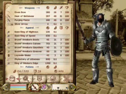My Oblivion Character