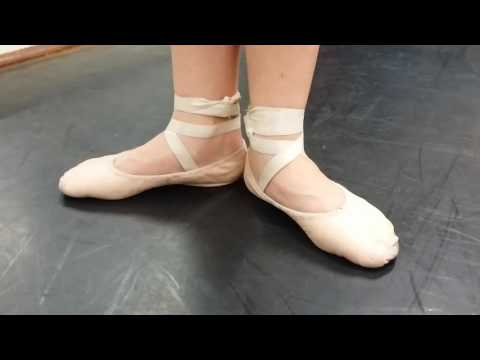 Are your ballet shoes too tight?