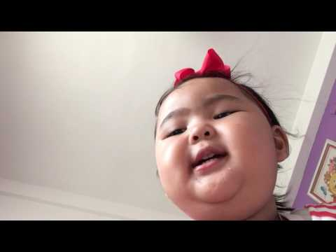 Abc song  Khmer little girl 3 years old