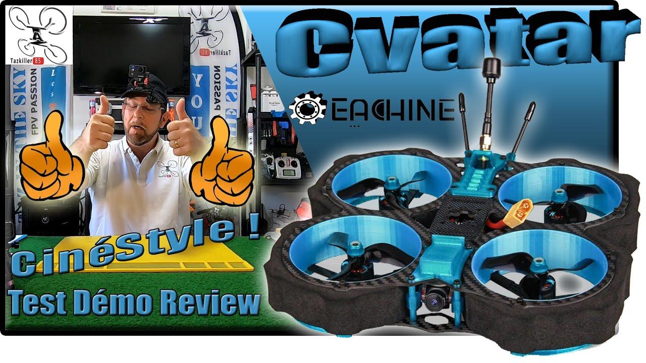 """Download Eachine CVATAR Cinewhoop Freestyle 6S - Review Test Démo - Le meilleur des """"CinéStyle"""" !!!"""