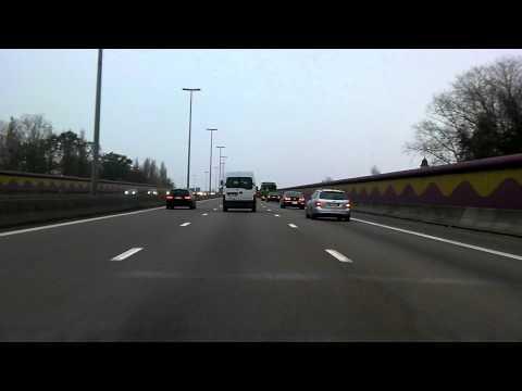 B041: E17 viaduct Gentbrugge (normal speed)