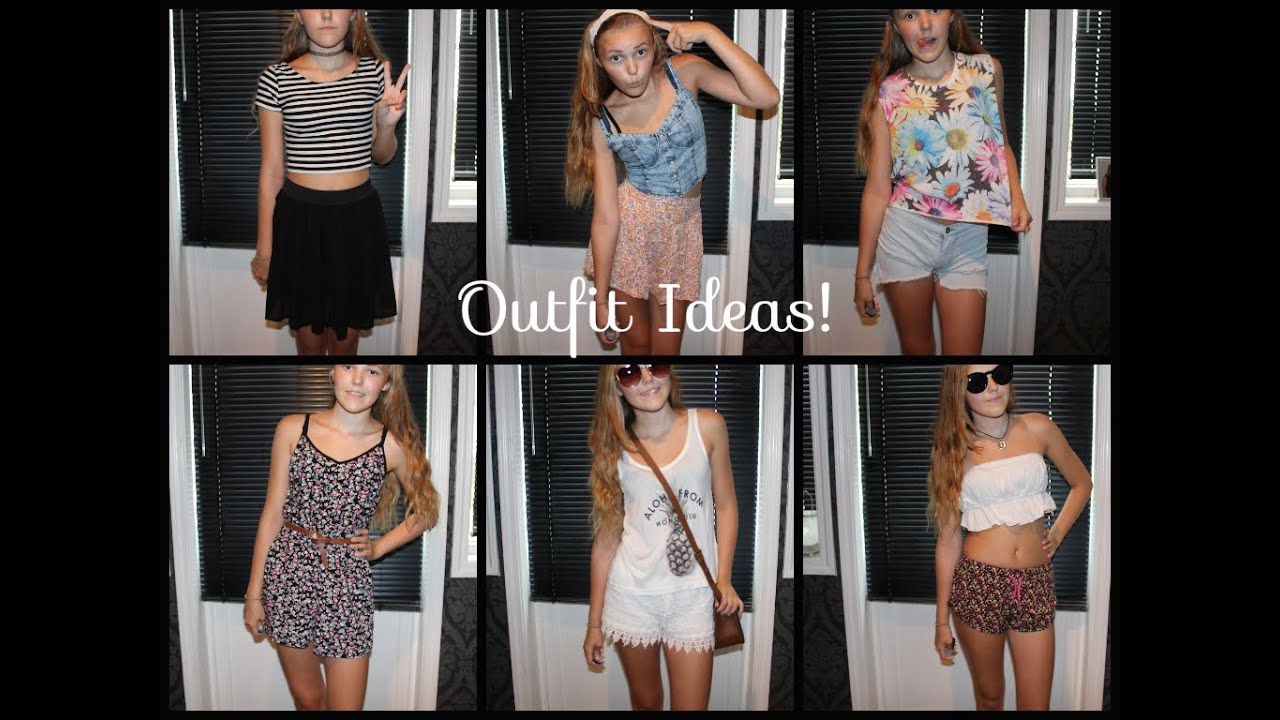 What to wear on a hot summer day! (Outfit Ideas) - YouTube