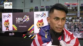 KL2017: Pencak silat gold a perfect wedding gift for Al Jufferi