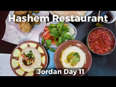 Legendary Jordanian Street Food at Hashem Restaurant - Amman, Jordan!