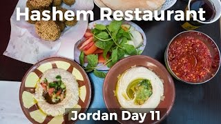 Legendary Jordanian Street Food at Hashem Restaurant - Amman, Jordan!