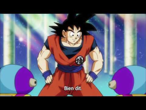 Goku demande à Zeno de se précipiter d'organiser le tournoi du pouvoir - Dragon Ball Super - VOSTFR