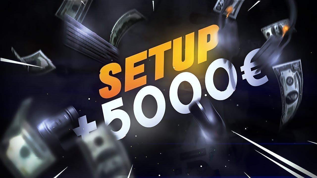 Setup 5000 2018 de merde video pourrie desh youtube for Chaise klim