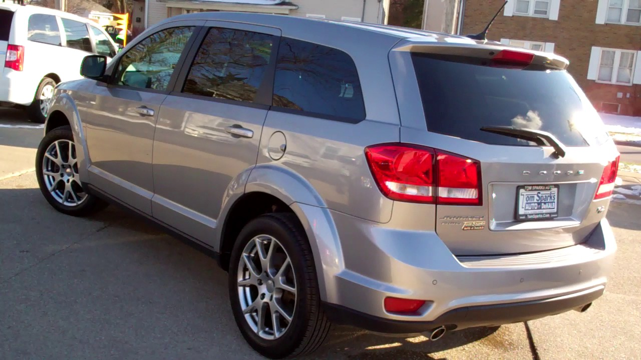 2015 dodge journey rt awd 3rd row seat dekalb il near rockford il youtube. Black Bedroom Furniture Sets. Home Design Ideas