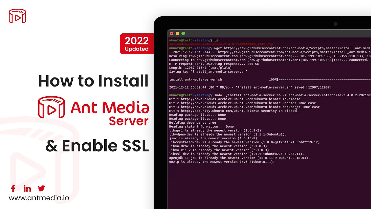 How to Enable SSL on Ant Media Server ? | Music Jinni