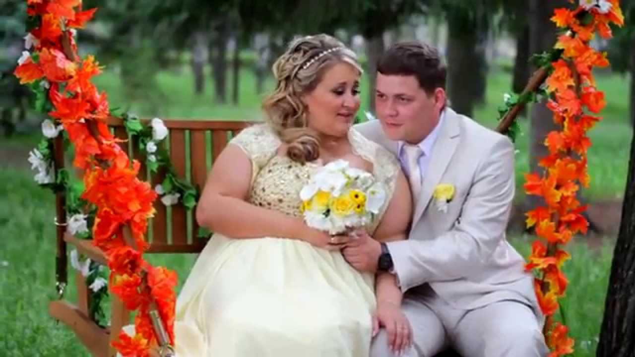 Свадебный красивый клип