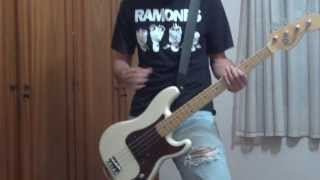 ROAD TO RUIN 12-It's A Long Way Back - Ramones Bass Cover
