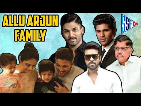 Family Tree Allu Arjun, Allu Sirish, Allu Aravind, Sneha Reddy, Ram Charan