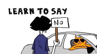 LEARNING TO SAY NO - THE HARDEST THING IN THE WORLD - KENNYISMS