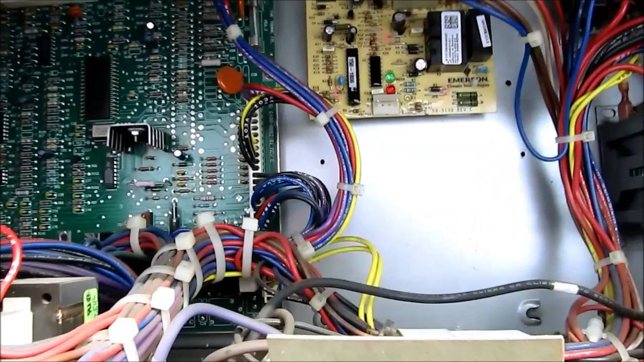 wiring diagram for furnace ethernet cat5e cable ignition board replacement on a trane voyager roof top unit - youtube