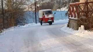 Piaggio Ape 50 Winter Drift 2012