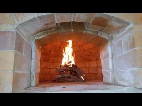 Wood fired pizza oven build